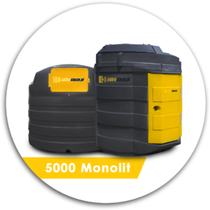 Zbiornik dwupłaszczowy na ON 5000 l Monolit