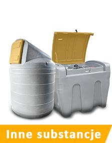 Zbiorniki stacjonarne oraz mobilne na inne paliwa i substancje