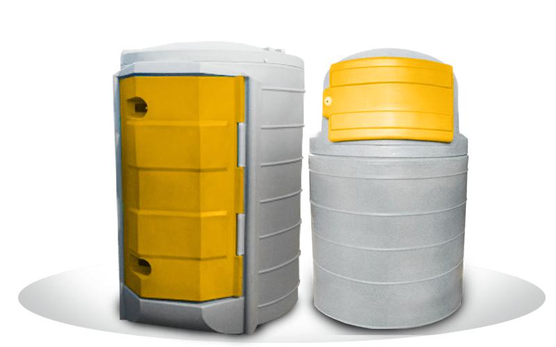 Zbiorniki do magazynowania paliw 1500 l