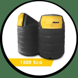 Zbiornik dwupłaszczowy na ON 1500 l Eco