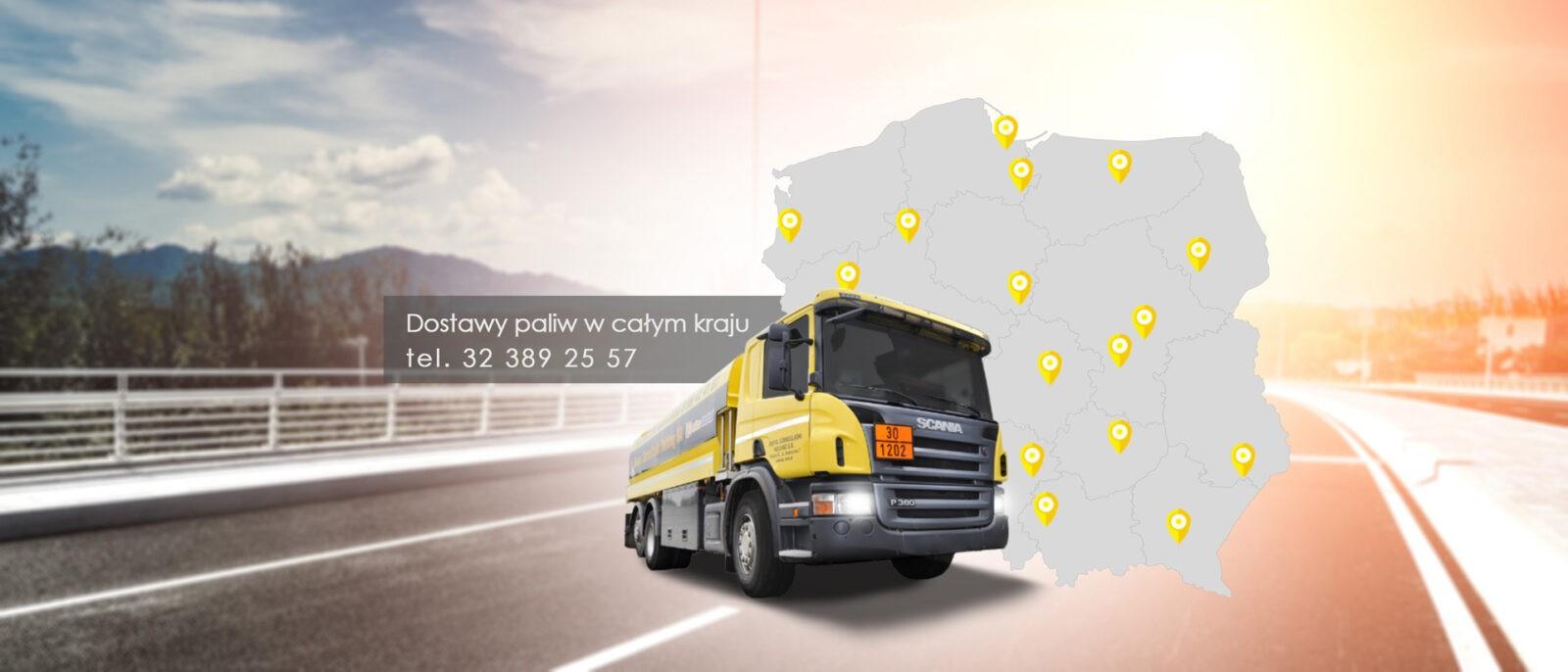 Zaawansowane dostawy paliw płynnych wraz z automatyczną obsługą SENT