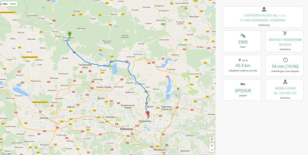 Monitoring dostaw - Dokładne informacje o dostawach paliw płynnych